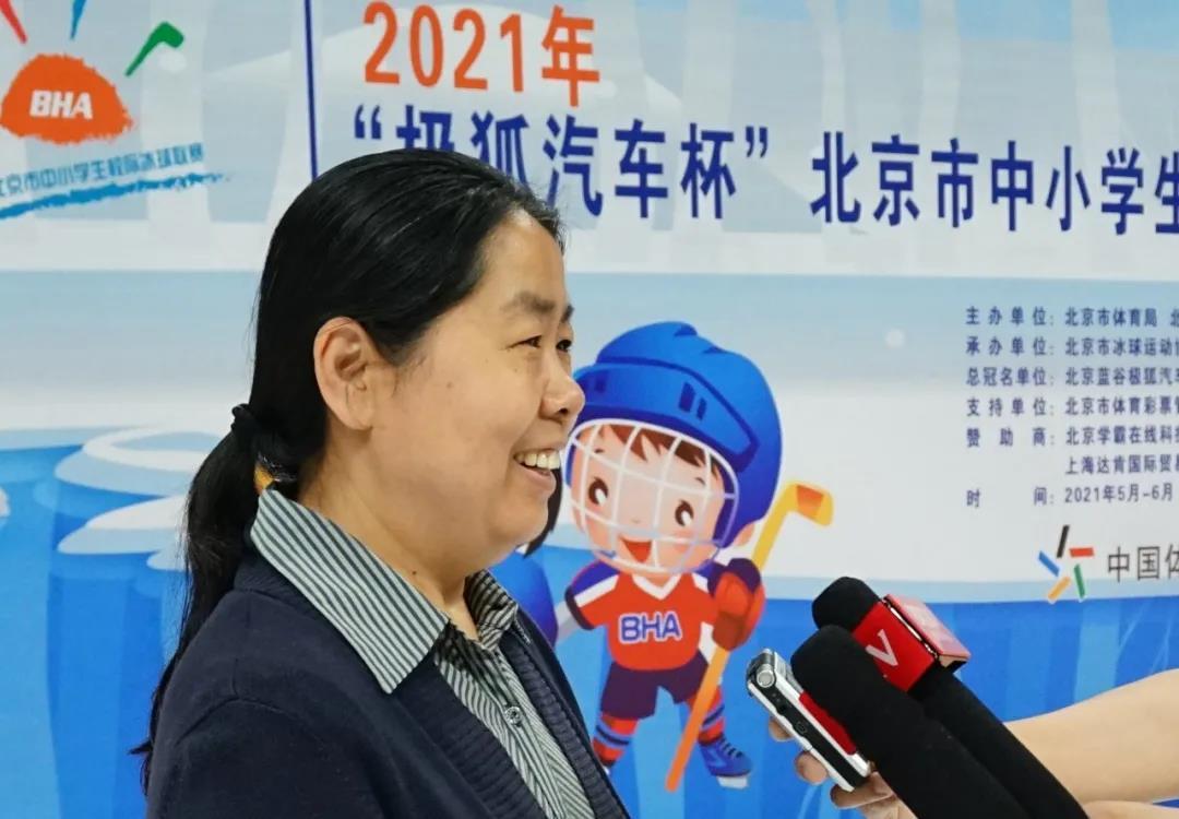 北京十一学校德育副校长邢凤玉 接受媒体采访
